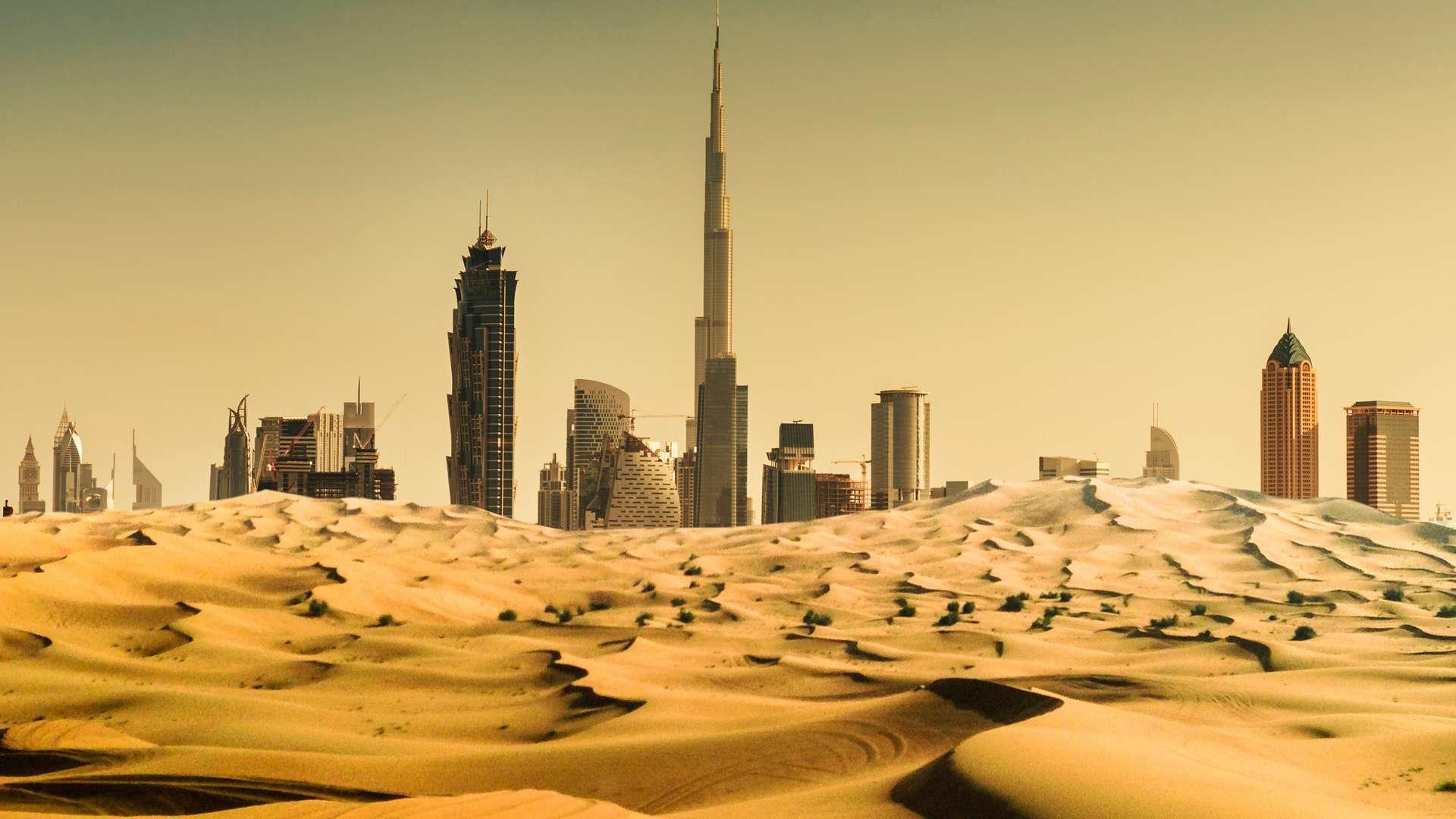 Temperature in Dubai