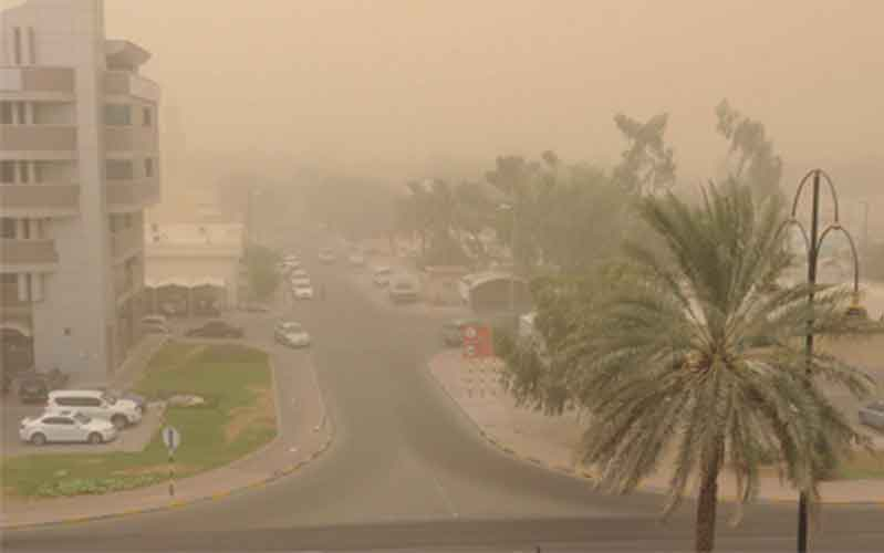 Wind in Dubai