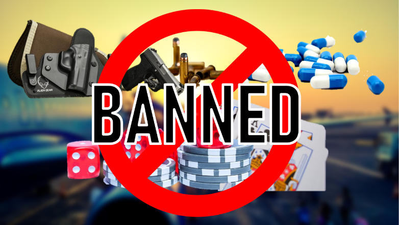 Banned Things in Dubai