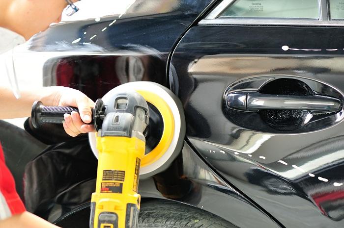 Make Aesthetic Repairs of car