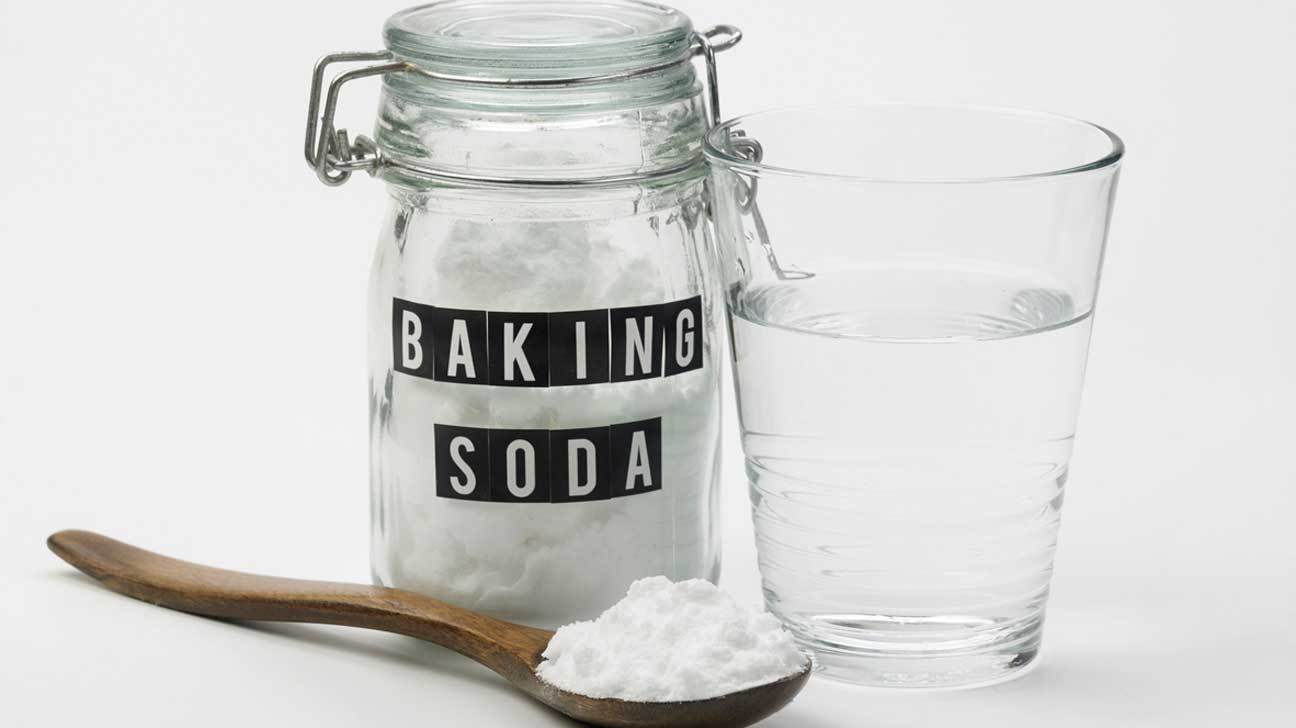 Baking Soda Mixed with Water